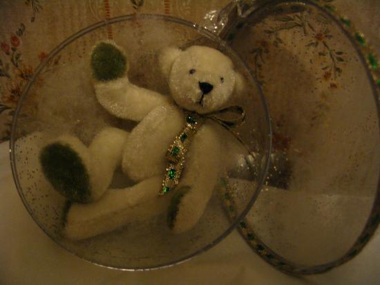 Les ours - Boules de noel anciennes ...