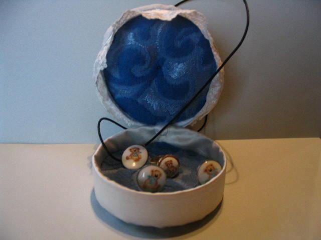 Une bo te bijoux dans une bo te fromage - Fabriquer une boite a bijoux ...